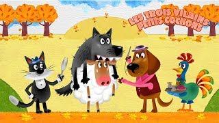 Les Contes de Masha - Les Trois Vilains Petits Cochons 🐷(Épisode 13)