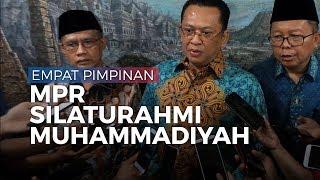 Silaturahmi ke Muhammadiyah, Pimpinan MPR Diberikan Tiga Buku
