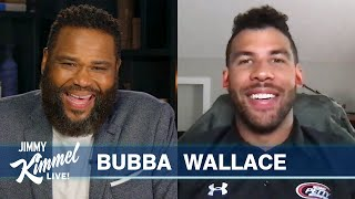 Guest Host Anthony Anderson Interviews Bubba Wallace - Trump's Attack & FBI Investigation