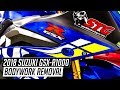 2018 Suzuki GSX-R1000 Bodywork Removal   Sportbiketrackgear.com