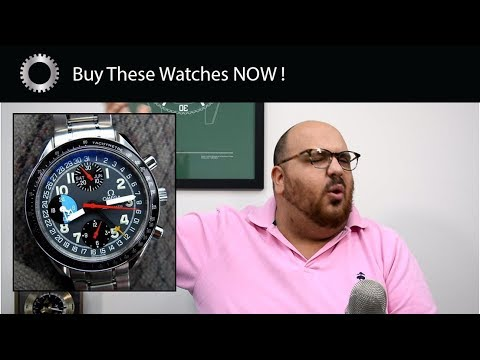 5 Watches SHOOTING Up In Price – If You Want These Watches Buy One NOW !
