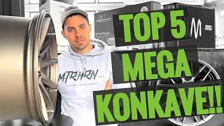 Die Top 5 MEGA Concave Felgen für dein Auto! 2021 #Tuningtalk