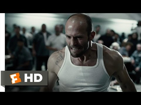 Death race  2 12  movie clip   prison cafeteria fight  2008  hd