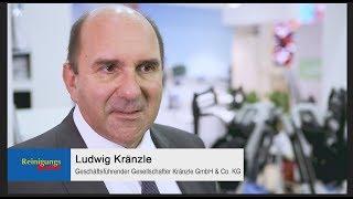 Live von der Interclean 2018: Josef Kränzle GmbH & Co. KG