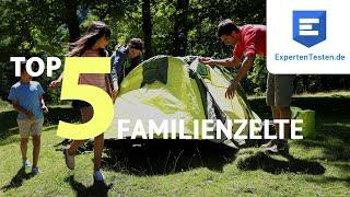 Familienzelt Test 2021 - Die besten Familienzelte im Vergleich