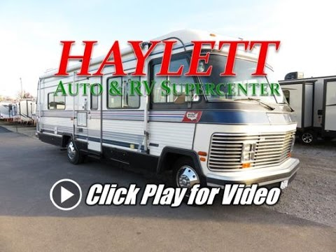 HaylettRV - 1986 Holiday Rambler Presidential 30CB Class A Gas Used Motorhome