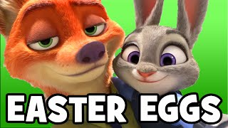 ZOOTOPIA Easter Eggs, References & Hidden Mickeys (Zootropolis)