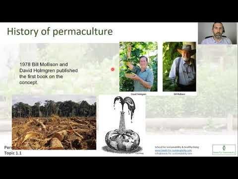 Permaculture Design Certificate| Online Course |Topic 1.1 Introduction to the course & permaculture