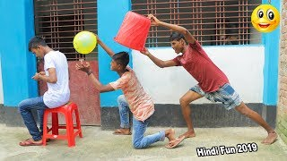 Indian New funny Video😄-😅Hindi Comedy Videos 2019-Episode-54--Indian Fun || ME Tv