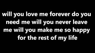 Paradise by the dashboard light - Glee (lyrics)