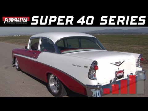 1956 Chevy Bel Air - Flowmaster Super 40 Mufflers