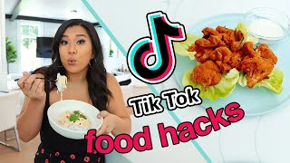 TESTING TIKTOK FOOD HACKS!! ...they're actually good!?