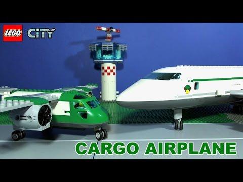 Vidéo LEGO City 60101 : L'avion cargo