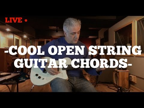 Cool Open String Guitar Chords | Rock Pop & Jazz