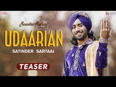 Udaarian (Teaser) -  Satinder Sartaaj | Jatinder Shah | Full Song Releasing Soon | Punjabi Song 2018