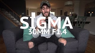 Should you buy the Sigma 30mm F1.4 for Sony?