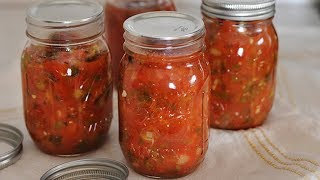 Learn How To Can Salsa The Easy Way