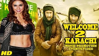 Welcome To Karachi (2015) Promotion Events Full Video   Jackky Bhagnani   Arshad Warsi