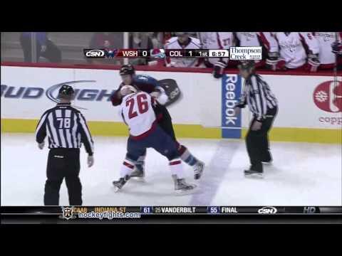 Matt Hendricks vs Cody McLeod