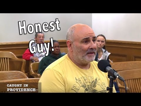 Guy can't stop admitting to speeding, even when judge tells him to lie and say he never speeds.