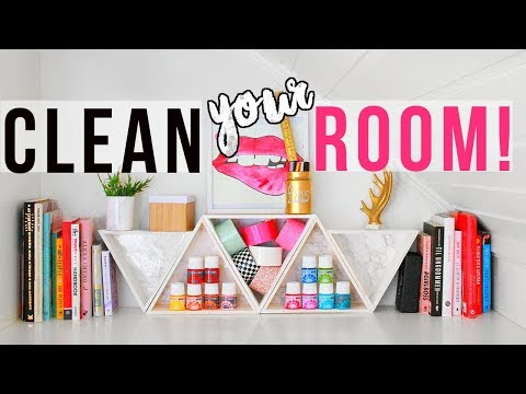 CLEAN YOUR ROOM!  | 8 New DIY Organizations + Tips & Hacks for Spring Cleaning 2018!