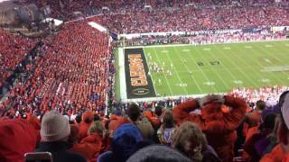 Clemson vs Alabama - 2017 Stadium reaction to winning touchdown   Kholo.pk