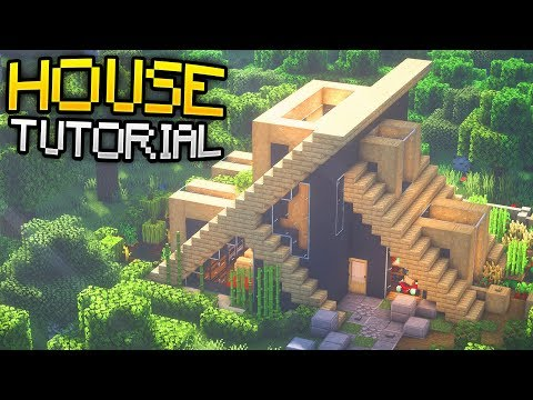 How To Build A Modern Birch Survival House Tutorial Download