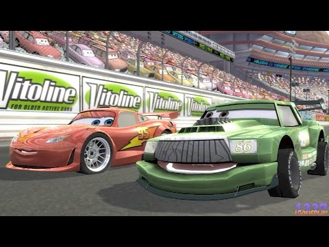 Cars Race-O-Rama - All Cutscenes - Lightning McQueen - PS3 Gameplay #0