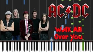 AC/DC - Walk All Over You Synthesia Tutorial