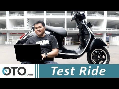 Vespa 150 GTS i-Get ABS | Test Ride | Bersurat Bersama Bapak | Oto.com