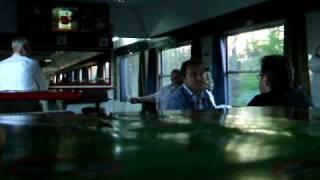 preview picture of video 'Im Speisewagen auf dem Eurocity aus Warschau von Brno nach Wien'