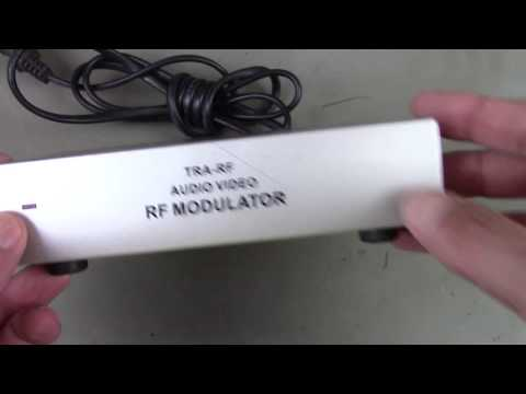 Por dentro de um modulador de RF para TV analógica