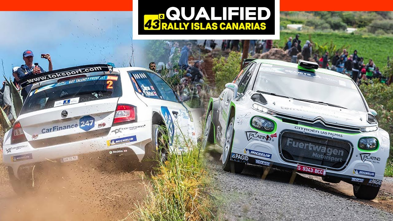 QUALIFIED | 43º Rally Islas Canarias