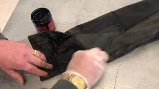 Leather Jacket Restoration - Revive the colour