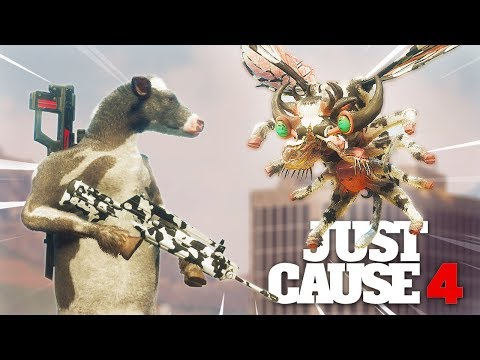Just Cause 4 - COW GUN VS THE DEMONS SECRET!