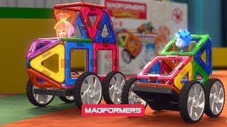 Конструкторы MAGFORMERS выпустили  FIXIE WOW SET