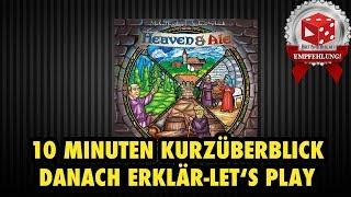 Heaven & Ale (Michael Kiesling & Andreas Schmidt, Pegasus 2017) - Überblick & Let's Play