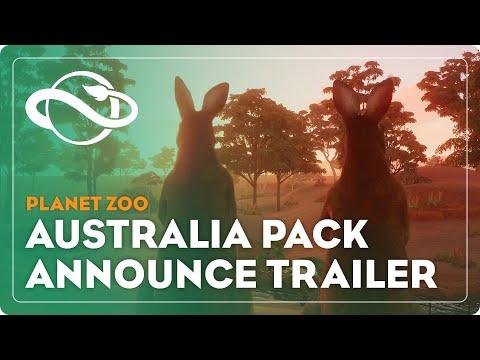 Annonce Pack Australie de Planet Zoo