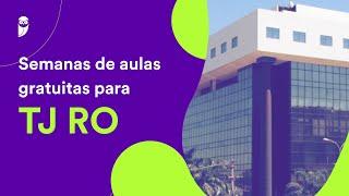 Semana Aulas Gratuitas TJ RO: Direito Administrativo - Prof. Thállius Moraes