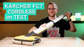 Kärcher FC7 Cordless im Test - Besser als jeder Wischsauger?