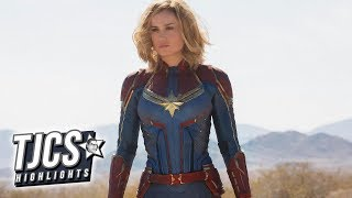 First Images Of Captain Marvel