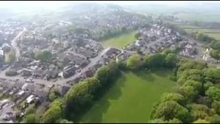 Oakworth from the air thanks to Paul Reynard