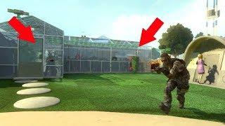 THEY WERE ALL HIDING INSIDE OF THE NUKETOWN GREENHOUSE!?!?!? (BLACK OPS 2 HIDE N' SEEK)