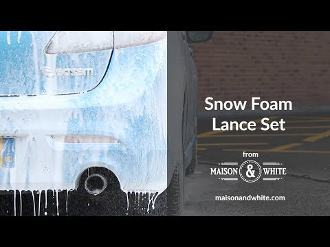 Snow Foam Lance Set | Maison & White