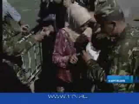 Беженцы узбекского Андижана - 2005 май