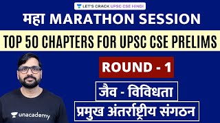 Biodiversity | International Organisations | Top 50 Chapters for UPSC CSE Prelims 2020
