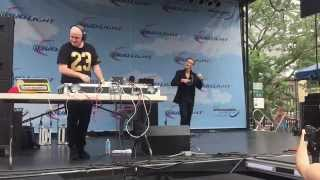 """Aaron Carter: """"We All Drunk Now"""" Live @ Northalsted Market Days: Chicago, IL. 8-9-2015."""