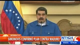 Simonovis presentará pruebas contra régimen de Maduro que lo vincula con el ELN