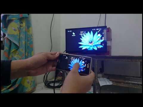 Cara pakai Kabel MHL to HDMI untuk Menampilkan gambar dari HP ke Layar TV LCD/LED Kabel MHL dari CSX
