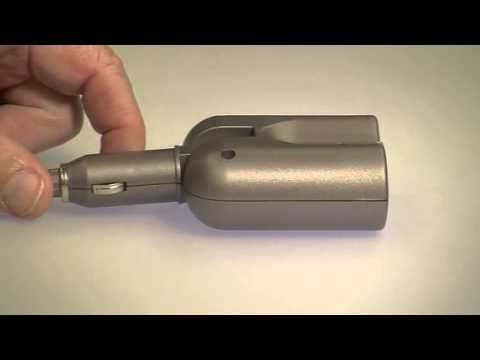 revolt 2-fach Kfz-Verteiler 12V (Zigarettenanzünder) mit Gelenkstecker